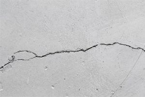 wall leakage due to cracks