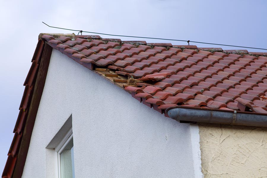 roof repair for broken shingles